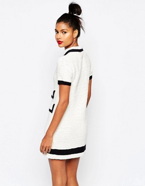 photo Zip Front Dress in Ecru by Sonia by Sonia Rykiel, color Cream - Image 2