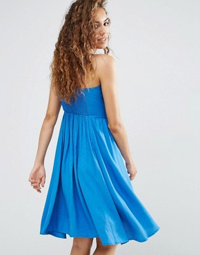 photo Hook and Eye Cannes Dress by d.RA, color Blue - Image 2