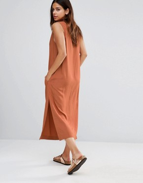photo V Neck Midi Dress by Shades of Grey, color Sienna Challie - Image 2