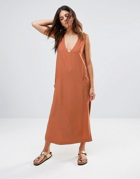 photo V Neck Midi Dress by Shades of Grey, color Sienna Challie - Image 1