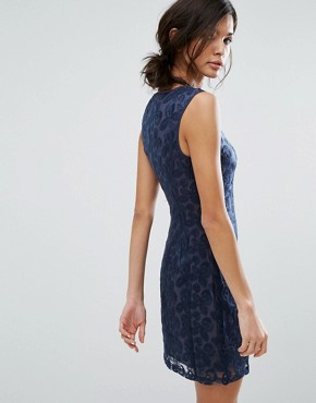 photo Sleeveless Pencil Dress by Lavand, color Navy - Image 2