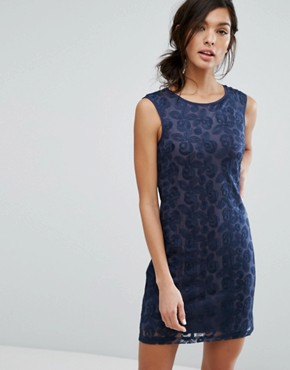 photo Sleeveless Pencil Dress by Lavand, color Navy - Image 1