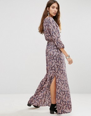 photo Paisley Print Maxi Dress by Blend She, color  - Image 2