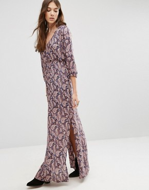 photo Paisley Print Maxi Dress by Blend She, color  - Image 1