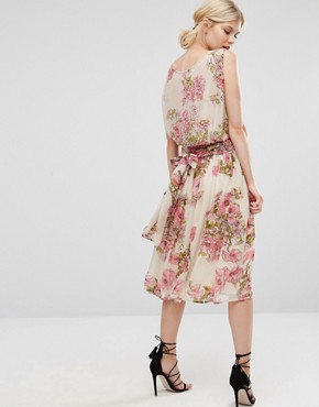 photo Pretty Soft Midi with Embellished Bodice by ASOS PETITE SALON, color  - Image 2