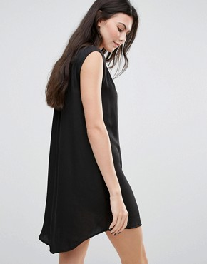 photo Dezza Grommet Dress by Greylin, color Black - Image 2