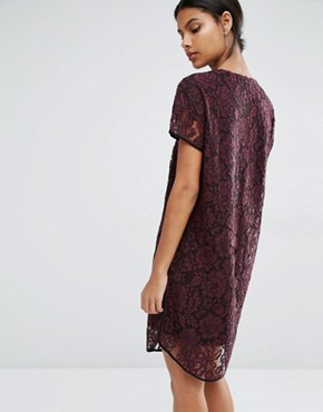 photo Cona Lace Dress by Y.A.S, color Purple - Image 2
