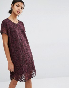 photo Cona Lace Dress by Y.A.S, color Purple - Image 1