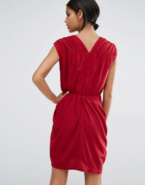 photo Amber Sleeveless Dress by Y.A.S, color Rhubarb - Image 2