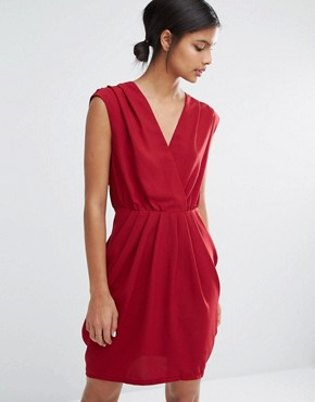photo Amber Sleeveless Dress by Y.A.S, color Rhubarb - Image 1