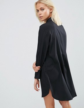 photo Sammy Shirt Dress In Black by French Connection, color Black - Image 2