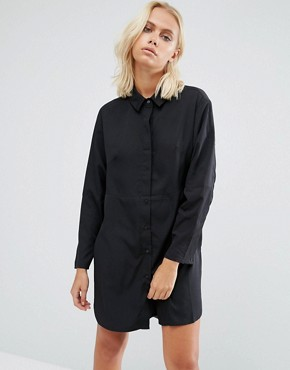 photo Sammy Shirt Dress In Black by French Connection, color Black - Image 1