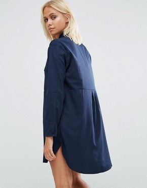 photo Sammy Shirt Dress In Nocturnal by French Connection, color Nocturnal - Image 2