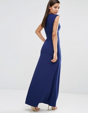 photo Vapid Maxi Dress by AQ/AQ, color Pariot Blue - Image 2