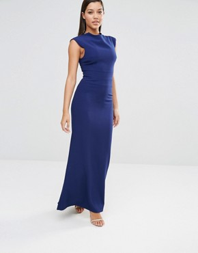 photo Vapid Maxi Dress by AQ/AQ, color Pariot Blue - Image 1