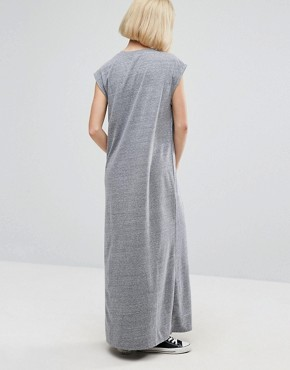 photo Nita Aline Maxi Dress by NYTT, color Heather Grey - Image 2