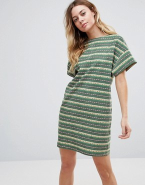 photo Von Traps Hind Dress by Traffic People, color Green - Image 1