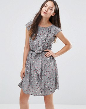photo Dress with Ruffle Side by Jasmine, color Grey - Image 1