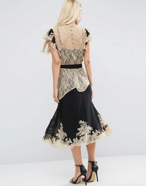 photo Lace Midi Dress by ASOS PREMIUM, color  - Image 2