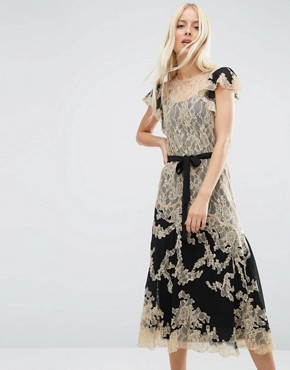photo Lace Midi Dress by ASOS PREMIUM, color  - Image 1