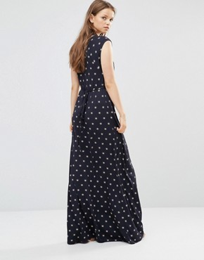 photo Maxi Dress in Pink Stars by French Connection, color Blue - Image 2