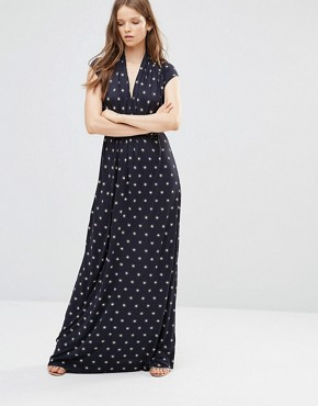 photo Maxi Dress in Pink Stars by French Connection, color Blue - Image 1