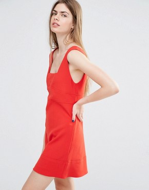 photo Pinafore by Vanessa Bruno Athe, color Red - Image 1
