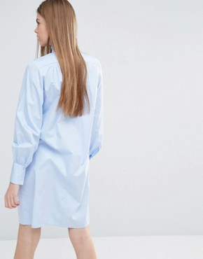 photo Adjazia Shirt Dress by Baum Und Pferdgarten, color Blue - Image 2