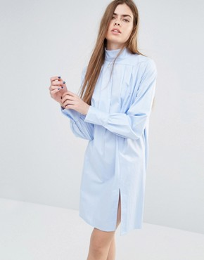 photo Adjazia Shirt Dress by Baum Und Pferdgarten, color Blue - Image 1