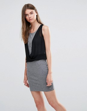 photo Witney Jersey Dress by Pepe Jeans, color Grey - Image 1