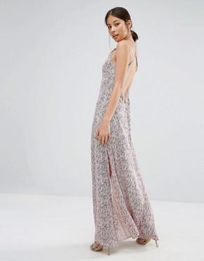 photo Elegance Maxi Dress In Willow Print by Goldie, color  - Image 1