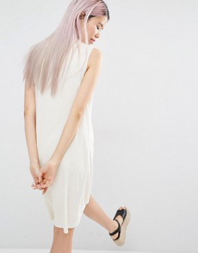 photo Sleeveless Dress by Monki, color Off White - Image 2