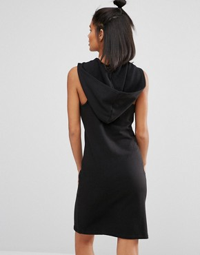 photo Short Dress with Hood by Nocozo, color Black - Image 2