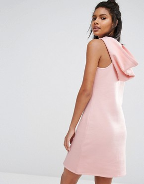 photo Pastel Short Dress with Hood by Nocozo, color Blush Pink - Image 2