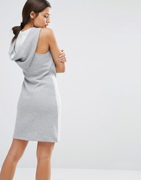 photo Short Dress with Hood by Nocozo, color Grey - Image 2