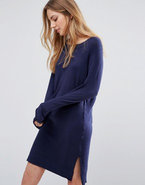 photo Camille Jumper Dress by Blend She, color Peacoat - Image 1