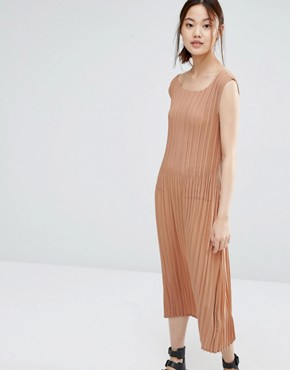 photo Dress with Micro Pleats by Zacro, color Dusty Rose - Image 1