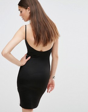 photo Bodycon Cami Dress with Contrast Mono Panels by Twin Sister, color Black/White - Image 2
