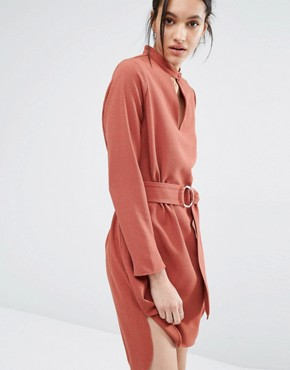 photo Soho Dress with D-Ring by Just Female, color Pink - Image 1