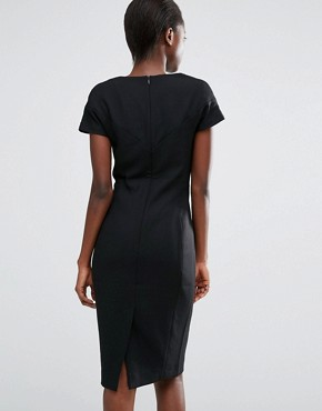 photo Whisper Light Fitted Dress by French Connection, color Black - Image 2