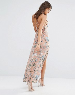 photo Saffron Sleeveless Maxi Dress by For Love and Lemons - Image 2