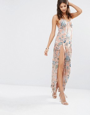 photo Saffron Sleeveless Maxi Dress by For Love and Lemons - Image 1