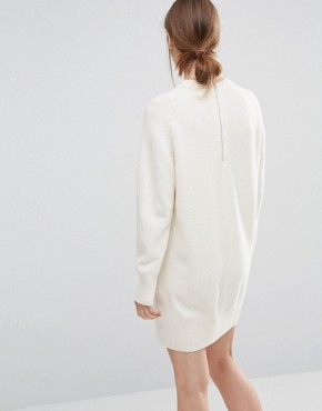 photo Rosa Jumper Dress by Wood Wood, color Off White - Image 2