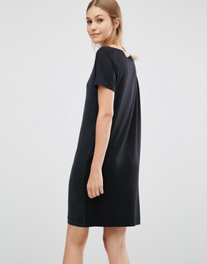 photo Date Dress by Just Female, color Black - Image 2