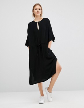 photo Ruchi Midi Dress by Just Female, color Black - Image 1