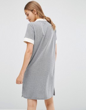 photo Athlete Polo Dress by Just Female, color Grey - Image 2