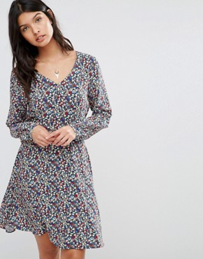 photo Lucia Floral Dress by Pepe Jeans, color  - Image 1