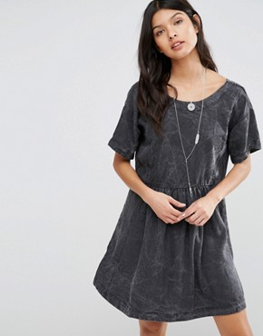 photo Lorette Marble Smock Dress by Pepe Jeans, color Grey - Image 1