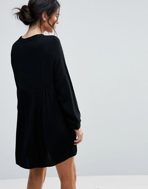 photo Marnie Raven Smock Dress by d.RA, color Black - Image 2