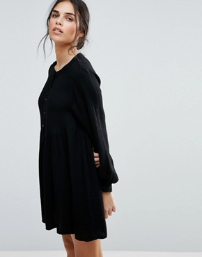 photo Marnie Raven Smock Dress by d.RA, color Black - Image 1